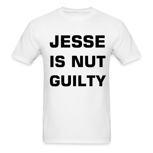 JESSE IS NUT GUILTY - Men's T-Shirt