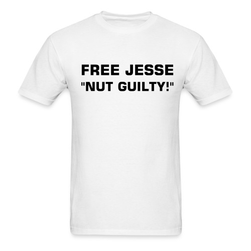 NUT GUILTY!  - Men's T-Shirt
