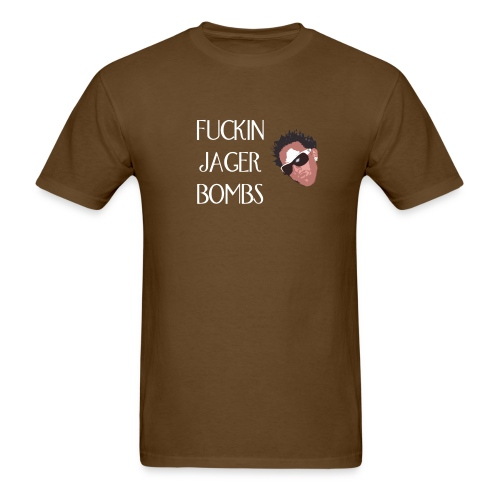 JAGER BOMBS!! - Men's T-Shirt