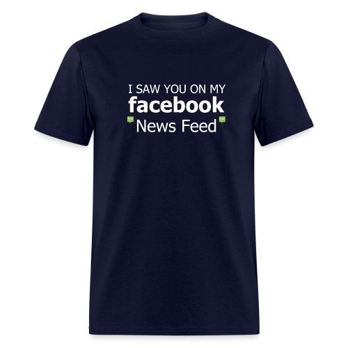 Facebook News Feed - Men's T-Shirt