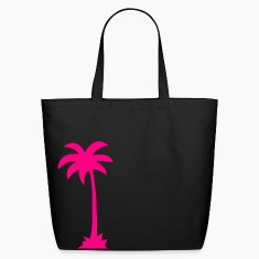 Black Tropical Beach Palm tree  Accessories