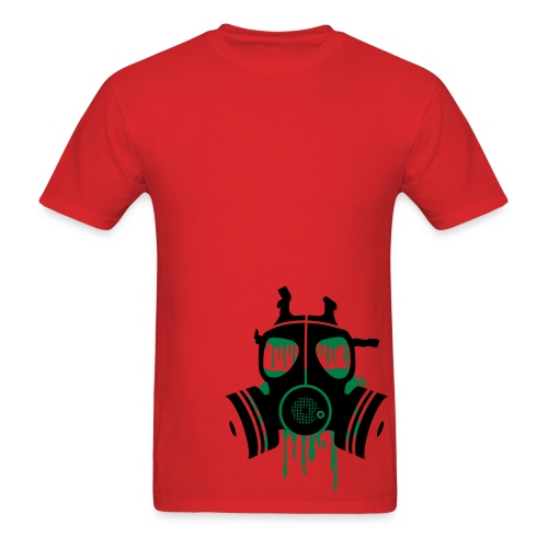 gasmask. - Men's T-Shirt