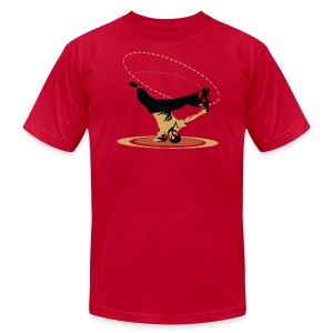 Breakdancer Head Spin T-shirt Design - Men's T-Shirt by American Apparel