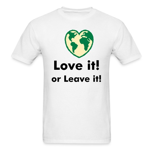 earth love - Men's T-Shirt
