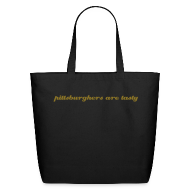 Bags & backpacks ~ Eco-Friendly Cotton Tote ~ Large Tote - pittsburghers are tasty