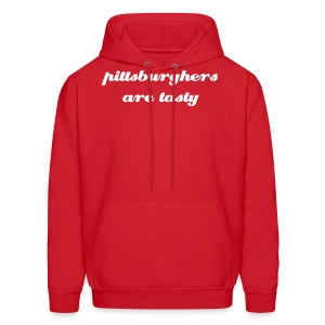 Sweatshirt - Pittsburghers are tasty  - Men's Hoodie