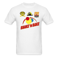 T-Shirts ~ Men's T-Shirt ~ SHAKE'N BAKE T-Shirt with Print Decals