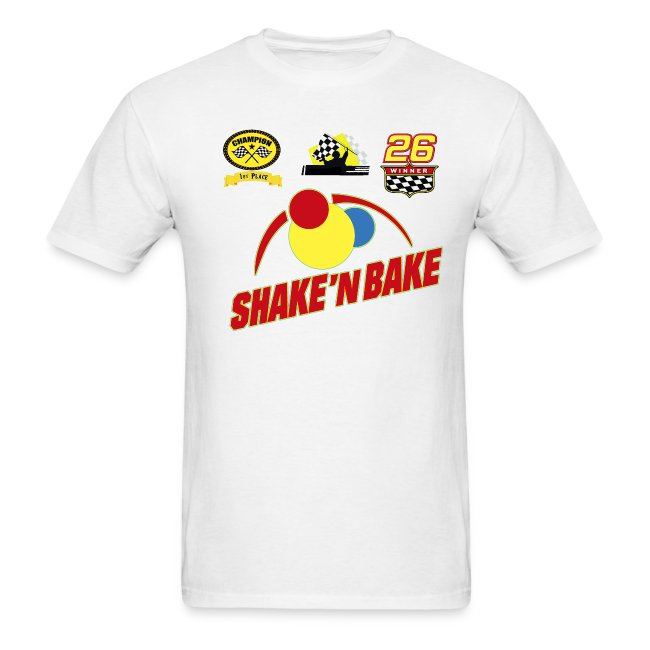 397658e28 SHAKE AND BAKE STORE | SHAKEN BAKE T-Shirt with Print Decals - Mens ...