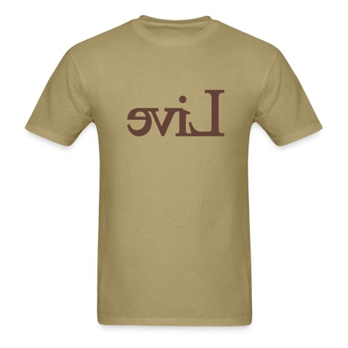(live) evil - MLW - Men's T-Shirt