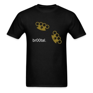 BROOTAL METALLIC GOLD - Men's T-Shirt