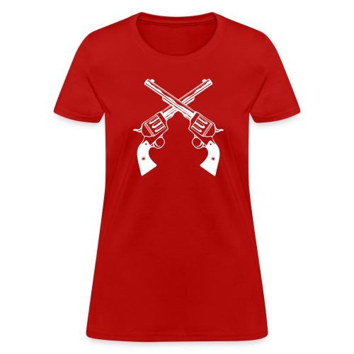 Lady Pistols - Women's T-Shirt