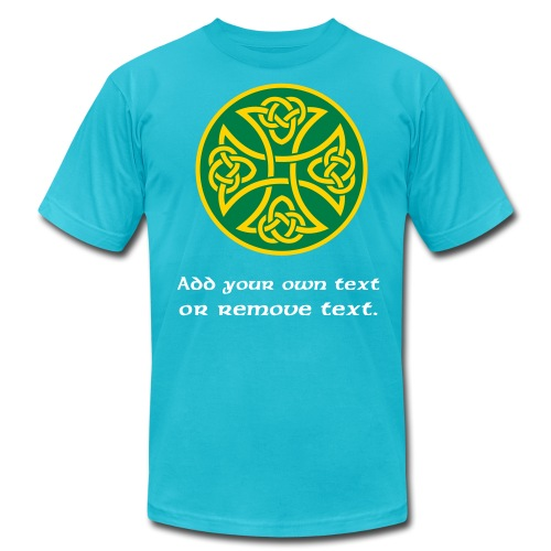 Celtic Knot Cross 3. - Men's Jersey T-Shirt