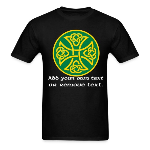 Celtic Knot Cross 3. - Men's T-Shirt