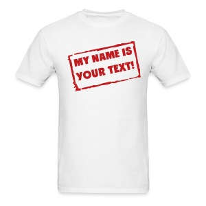 My Name Is... - MLW - Men's T-Shirt