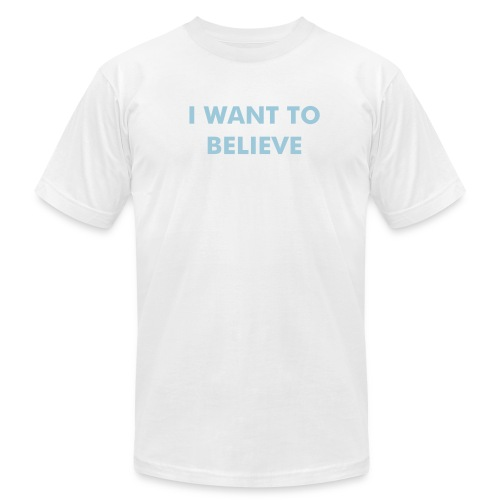 I Want to Believe (Men) - Men's Fine Jersey T-Shirt