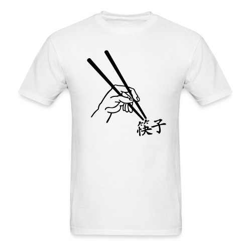 Chopsticks - Chinese - MLW - Men's T-Shirt