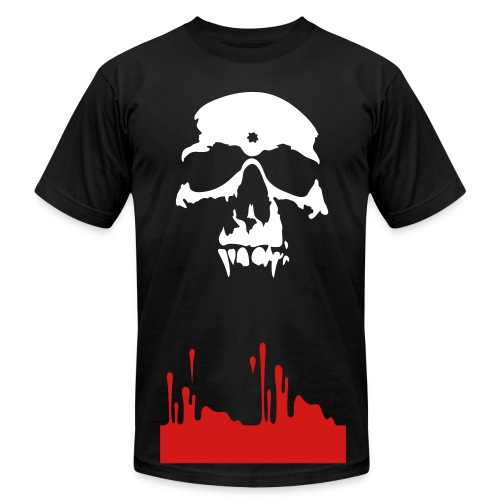 Generic Bloody Skull - Men's Fine Jersey T-Shirt