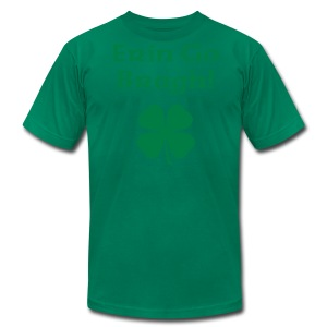 Erin Go Bragh! 4-Leaf Clover. - Men's T-Shirt by American Apparel