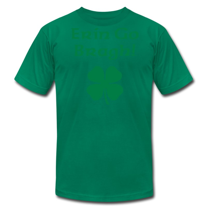 Erin Go Bragh! 4-Leaf Clover. - Men's Fine Jersey T-Shirt