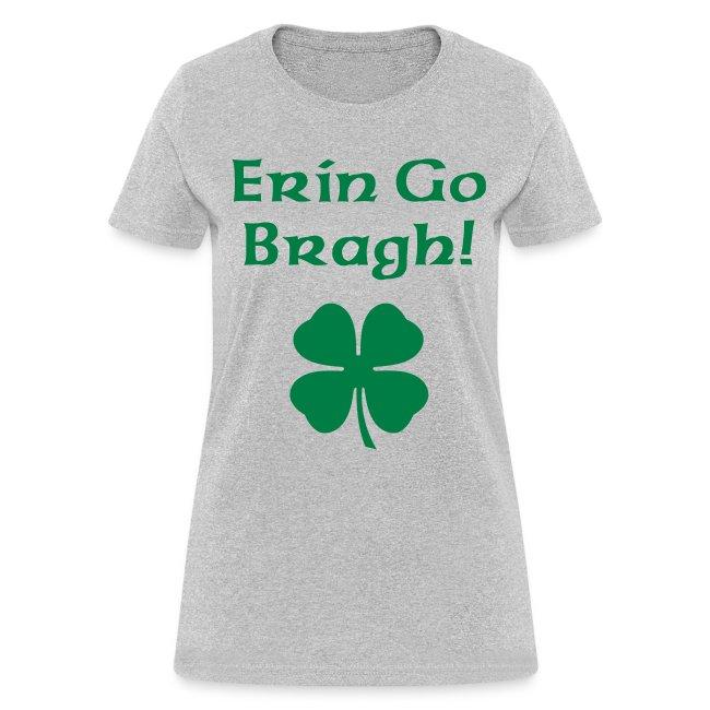 Erin Go Bragh! 4-Leaf Clover.