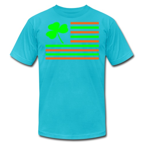Shamrock Flag. - Men's Jersey T-Shirt