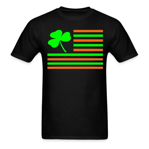 Shamrock Flag. - Men's T-Shirt