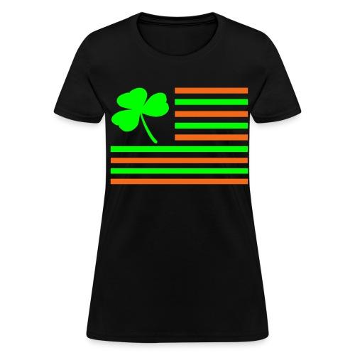 Shamrock Flag. - Women's T-Shirt