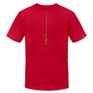 Hangman (AA Brand) - Men's T-Shirt by American Apparel