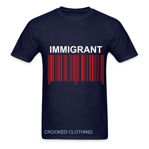 Immigrant (take a number) - Men's T-Shirt