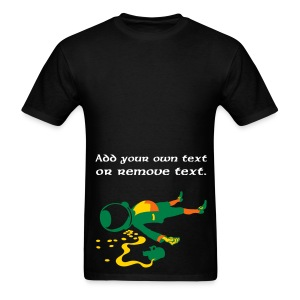 Drunk Leprechaun. - Men's T-Shirt