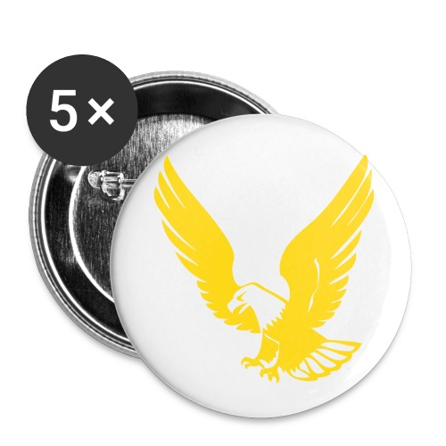 gold eagle buttons  - Small Buttons