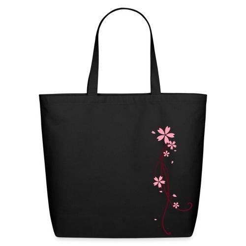 Flower&&VineTote. - Eco-Friendly Cotton Tote