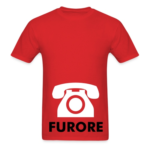 Red Telephone. - Men's T-Shirt