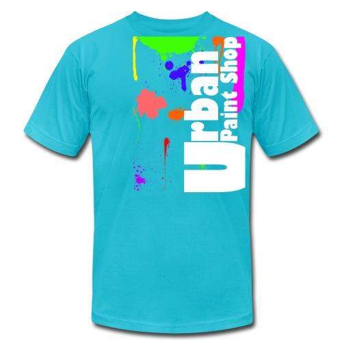 Urban Paint Splatter T Mens - Men's Fine Jersey T-Shirt