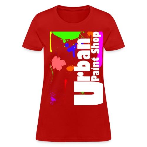 Urban Paint Splatter T Womans - Women's T-Shirt