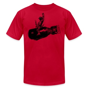 AA Bomb Cowboy Shirt - Men's T-Shirt by American Apparel