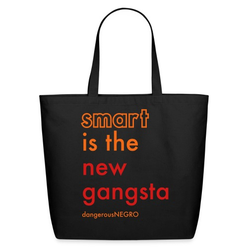 smart gangsta - Eco-Friendly Cotton Tote