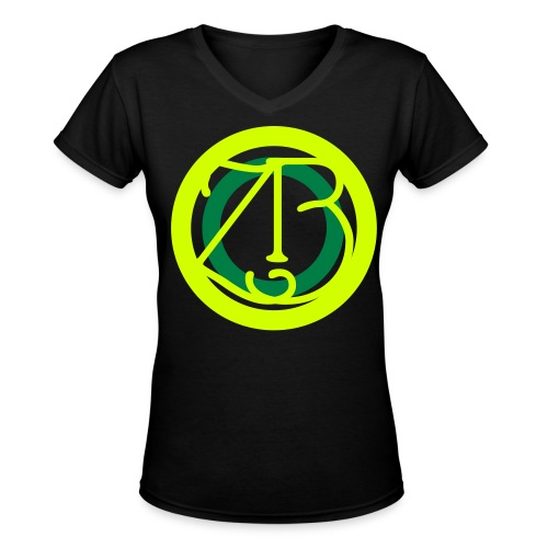 CircleZB!Circle - Women's V-Neck T-Shirt