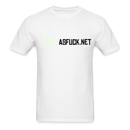 Glow-grey shy.asfuck men's light - Men's T-Shirt