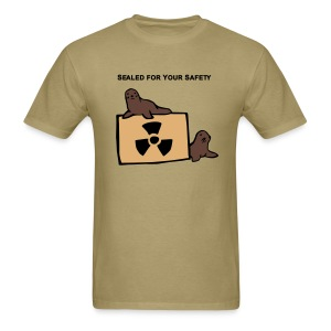 Sealed for Your Safety Men's Lightweight - Men's T-Shirt