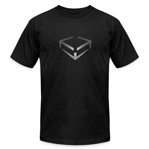 KBOX T-shirt (athletic fit) - Men's Fine Jersey T-Shirt