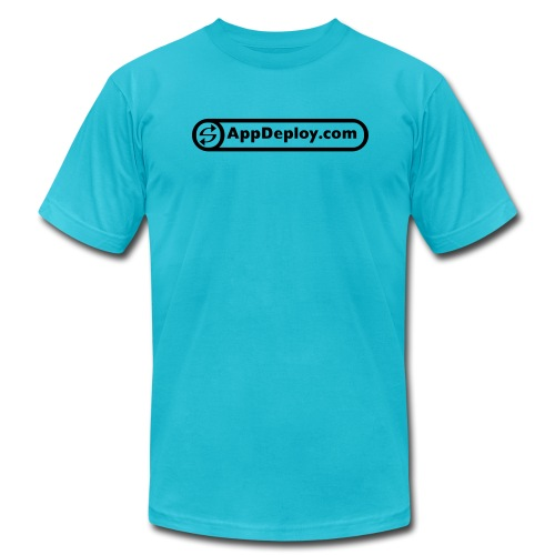 AppDeploy T-shirt (athletic fit) - Men's Fine Jersey T-Shirt