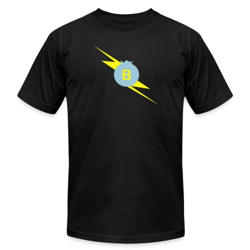 PodcastPowerBlack AA - Men's Fine Jersey T-Shirt