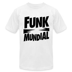 Funk Mundial Classic - Men's T-Shirt by American Apparel