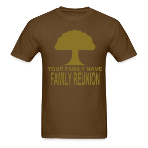 FAMILY REUNION - Metallic design - Men's T-Shirt