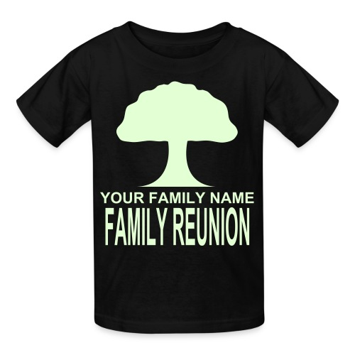 FAMILY REUNION - GlowInThe Dark - Kids' T-Shirt