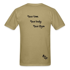 Your Body - Men's T-Shirt
