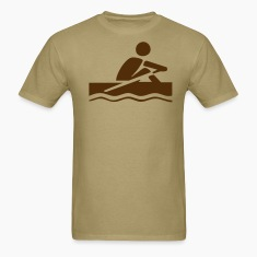 Khaki rowing T-Shirts (Short sleeve)