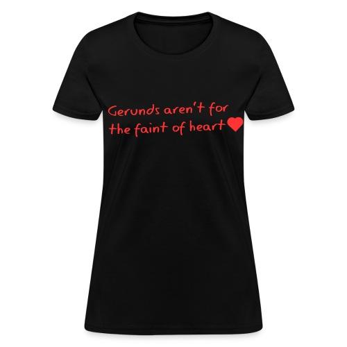 Gerunds - Women's T-Shirt