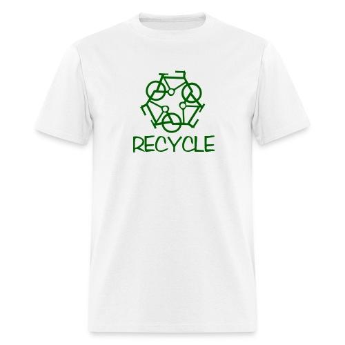 reCYCLE - no back logo - Men's T-Shirt